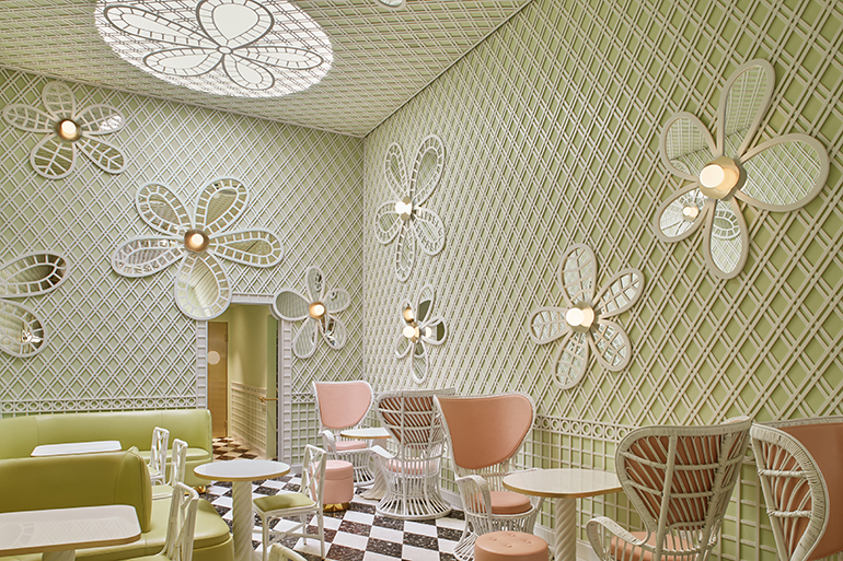 Ladurée Beverly Hills. Photography By Sam Frost.