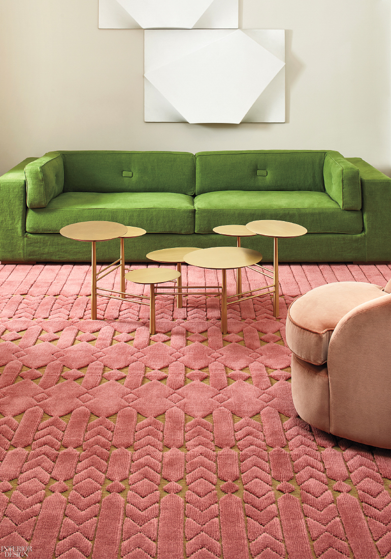 India Mahdavi Adds Daring New Colorways To Her Jardin
