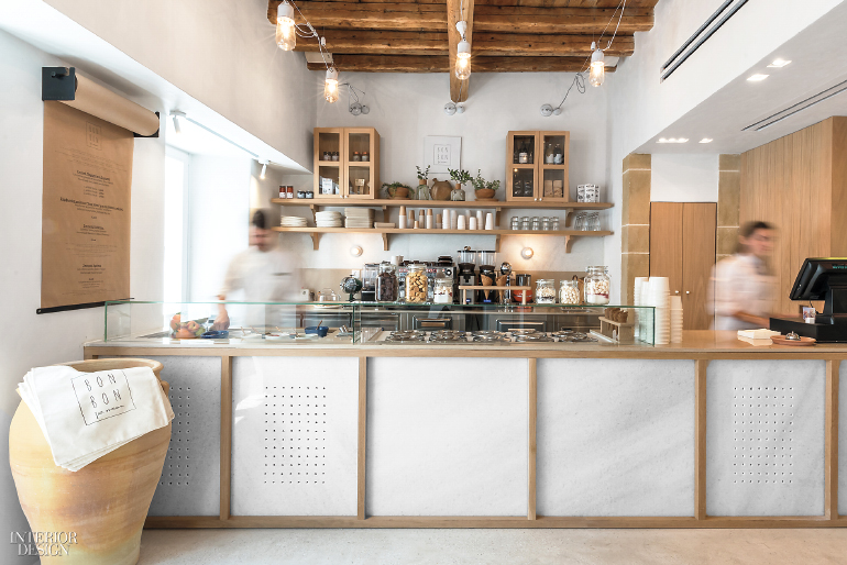 Greek Ice Cream Parlor By Stamos Hondrodimos Evokes Childhood Nostalgia Beauteous Parlor Interior Design Property