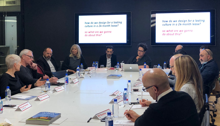 Interior Design Workplace Roundtable Delves Into Contemporary Office