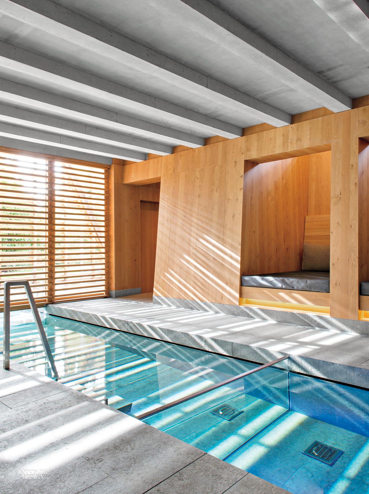 Jouin manku designs sensory annex for h tel des berges in for Pool design france