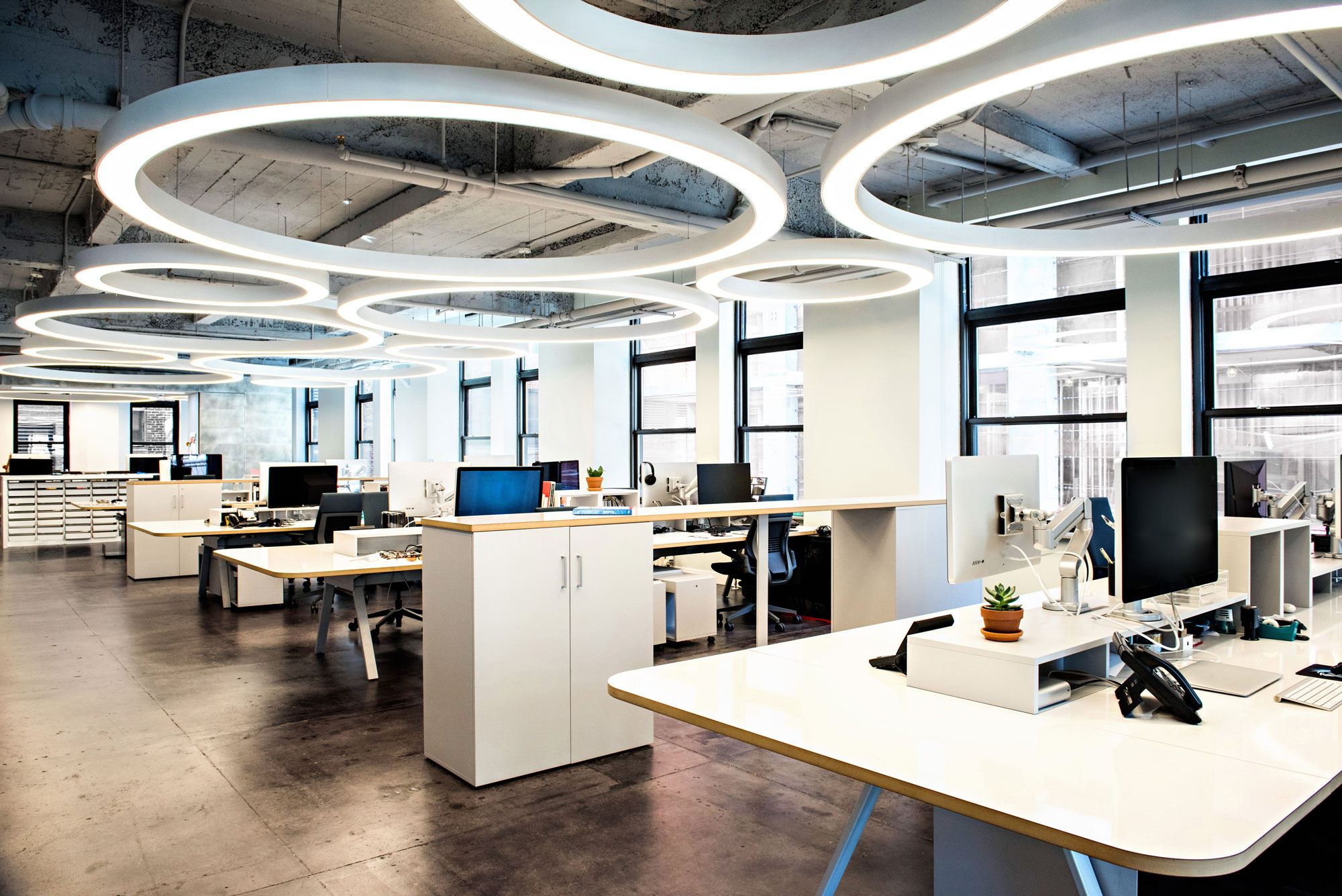 6 innovative new offices for New office layout