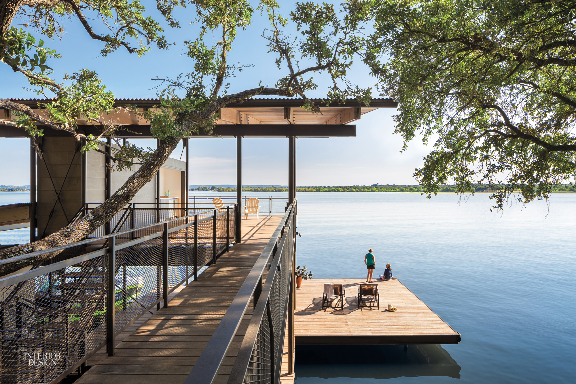 Lake Flato And Plus Two Interiors Design A Vacation House