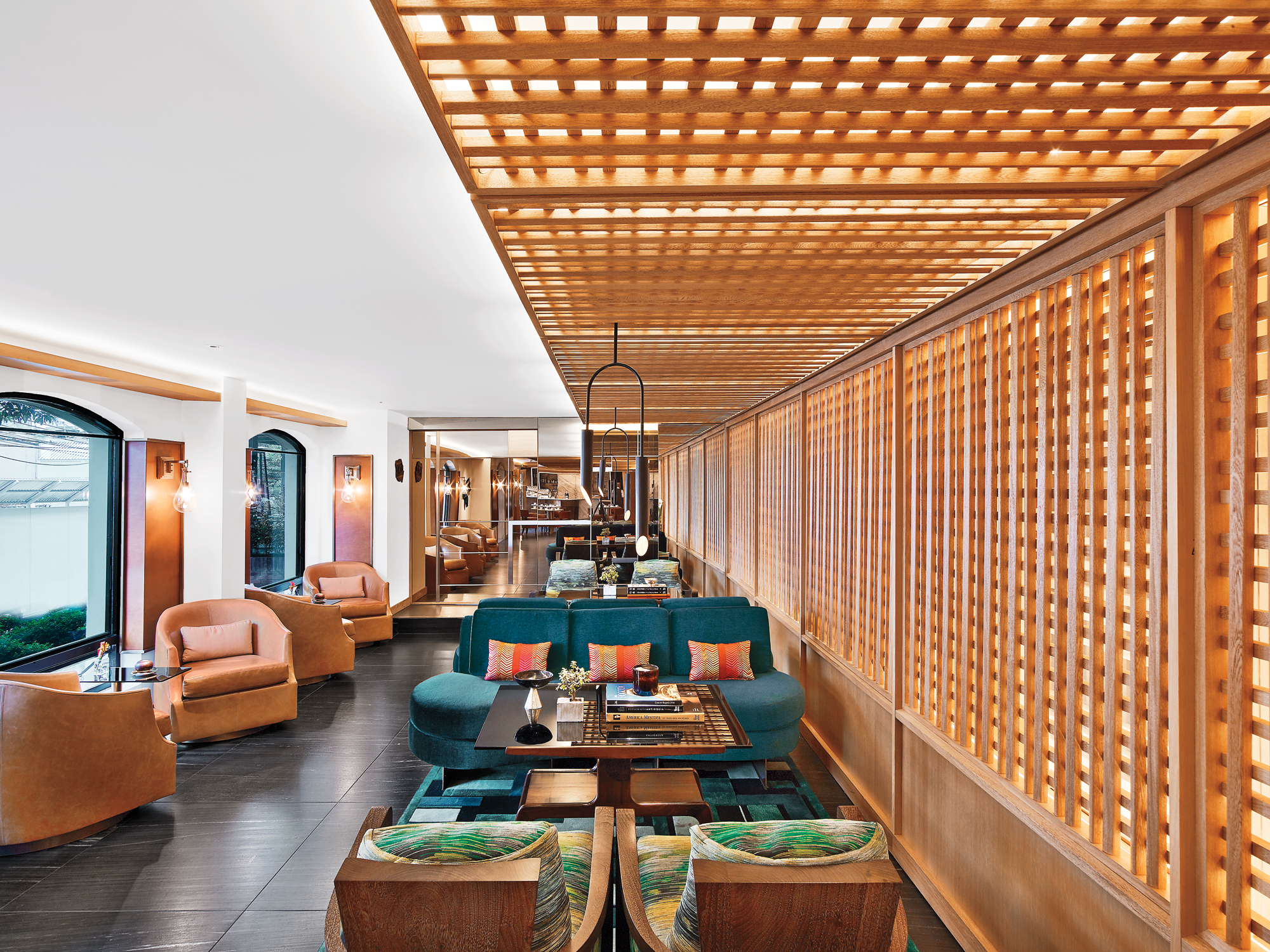 Rottet studio captures local flair in the four seasons for Hotel interior design