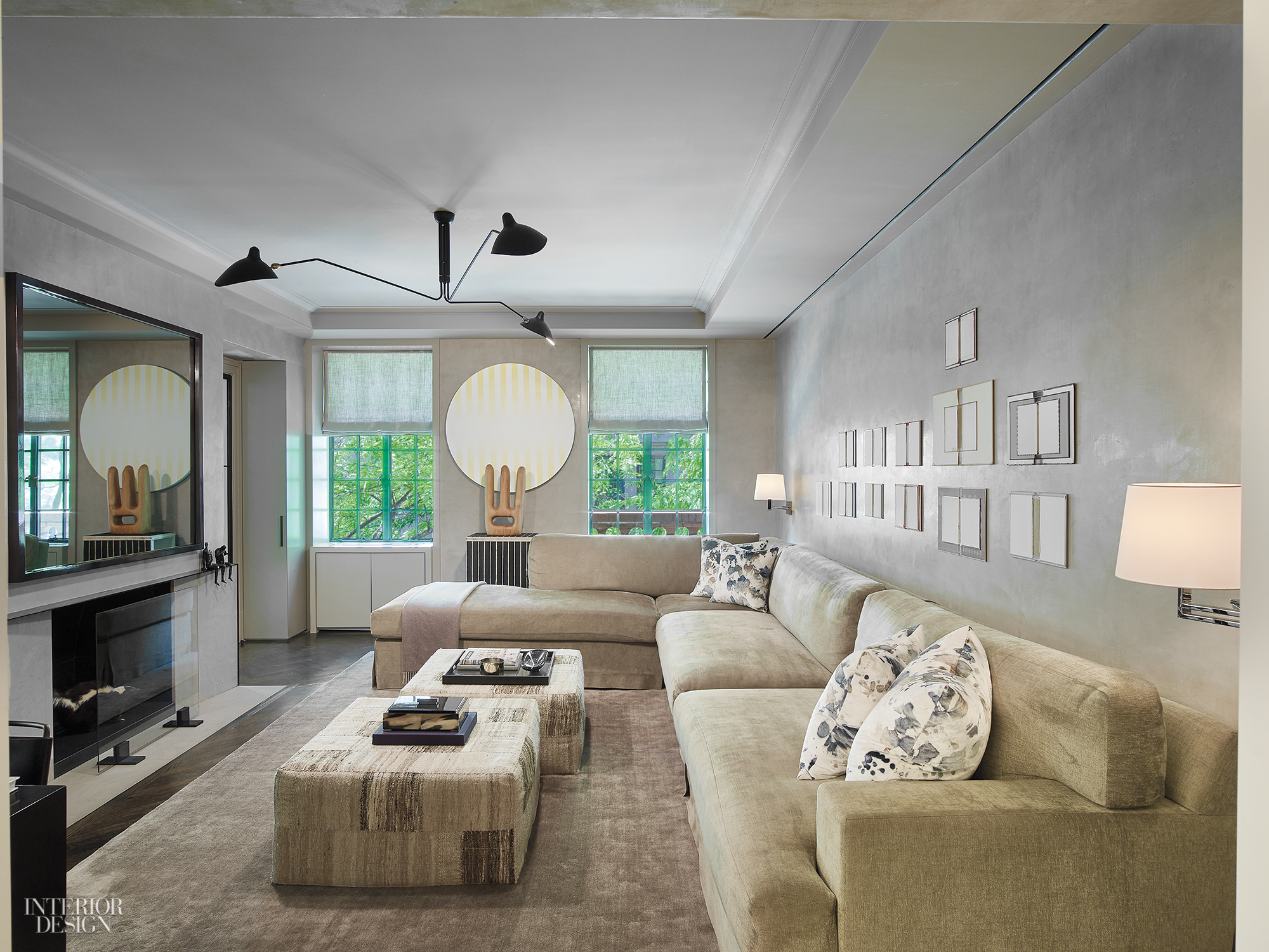 MR Architecture Decor Enlivens a PreWar Manhattan Apartment for a