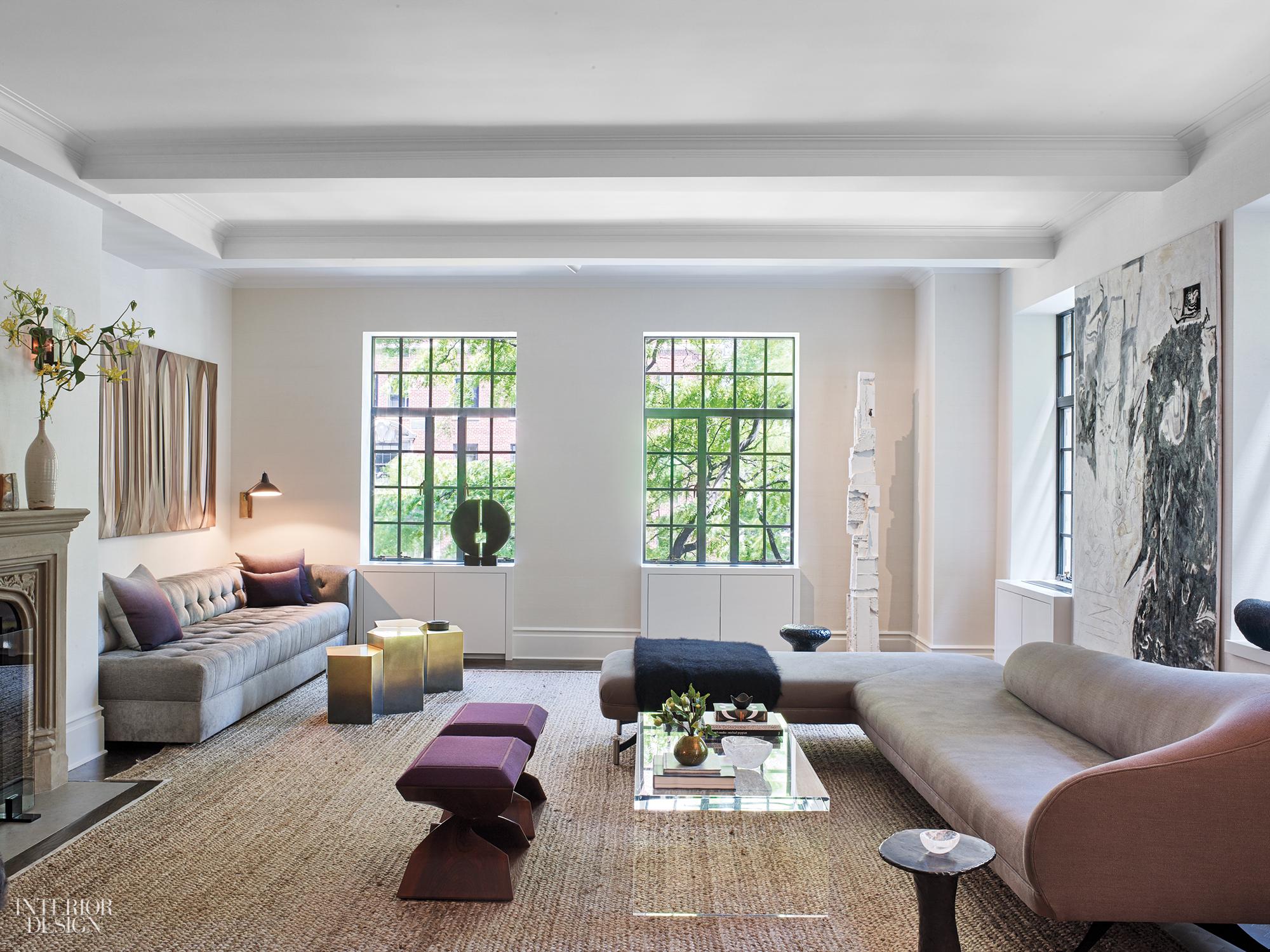 Mr Architecture Decor Enlivens A Pre War Manhattan Apartment For A