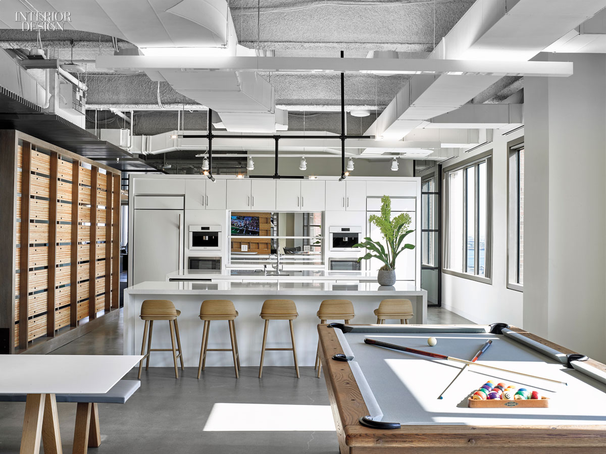 4 tech and finance companies rock out at the office for Commercial space design