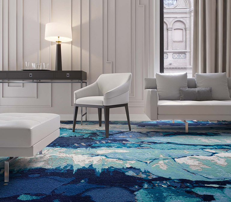 Meet Liike Durkans High Tech Flooring Collection Inspired By Painting