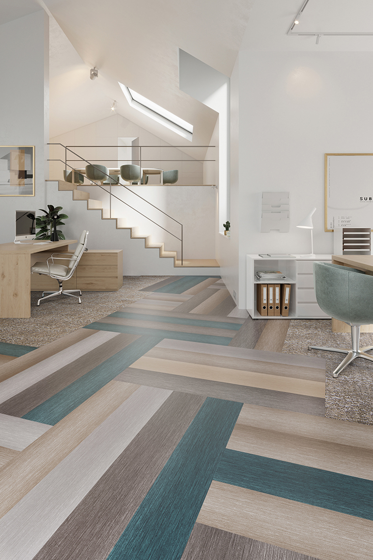 Neocon S Standout Flooring Trends