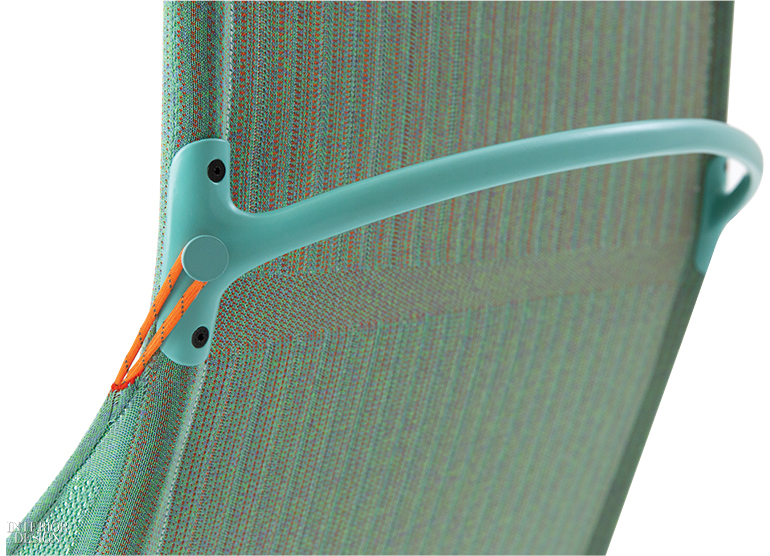 Tent chair fabric.  sc 1 st  Interior Design & Benjamin Hubertu0027s Tech-Forward Tent Chairs for Moroso