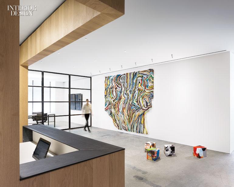 Morris adjmi 39 s office doubles as a rotating art gallery for Giorgio aldo interior designs