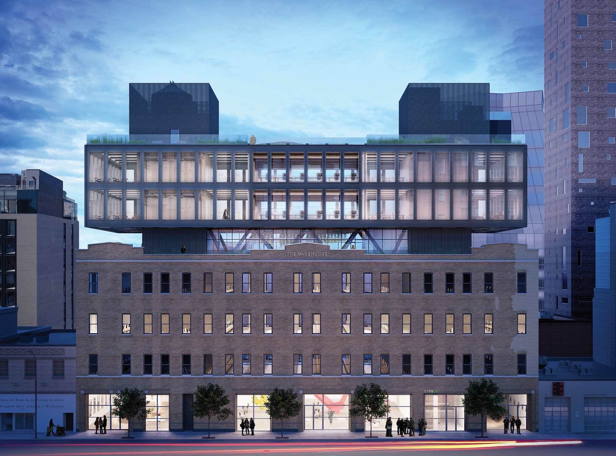 Morris Adjmi Reveals Design For The Warehouse Complex In Nyc