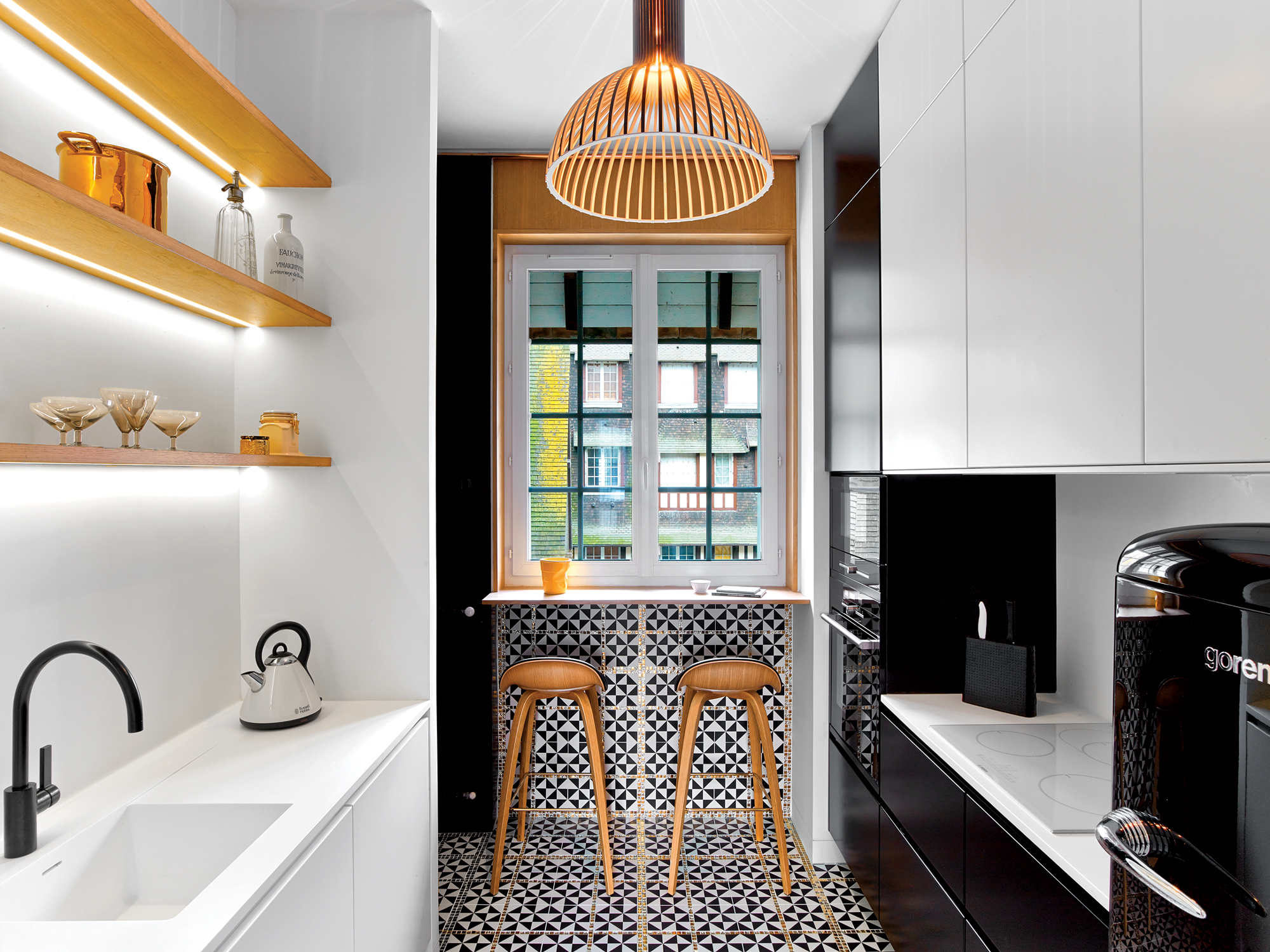 best small apartment interior | Brooklyn's Nous Studio Recruits Local Artisans for French ...