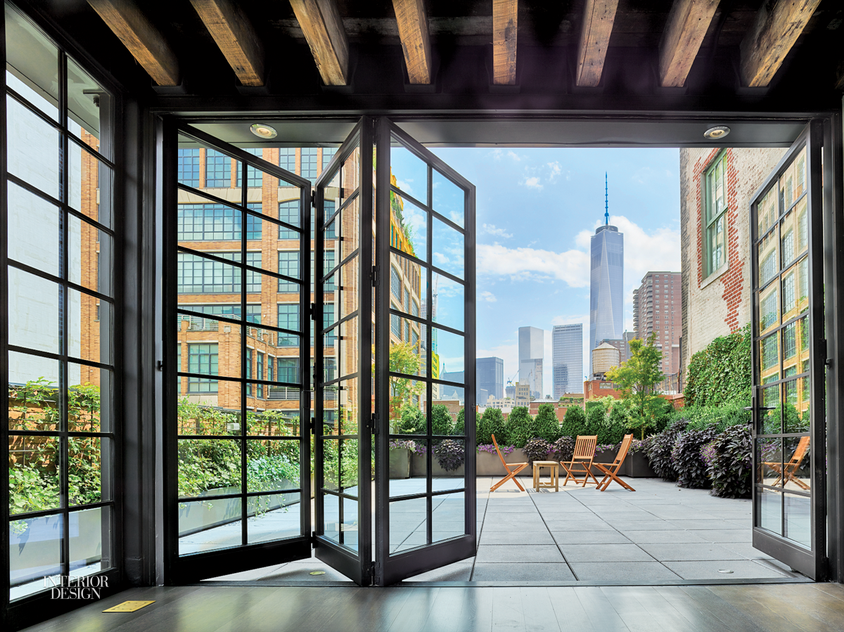 Oda new york designs tribeca penthouse for New york home design