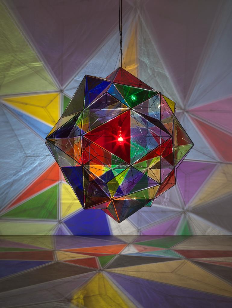 Olafur Eliasson Projections Illuminate Marciano Art