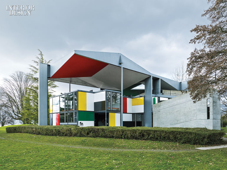 zurich 39 s pavillon le corbusier serves as a monument to a. Black Bedroom Furniture Sets. Home Design Ideas