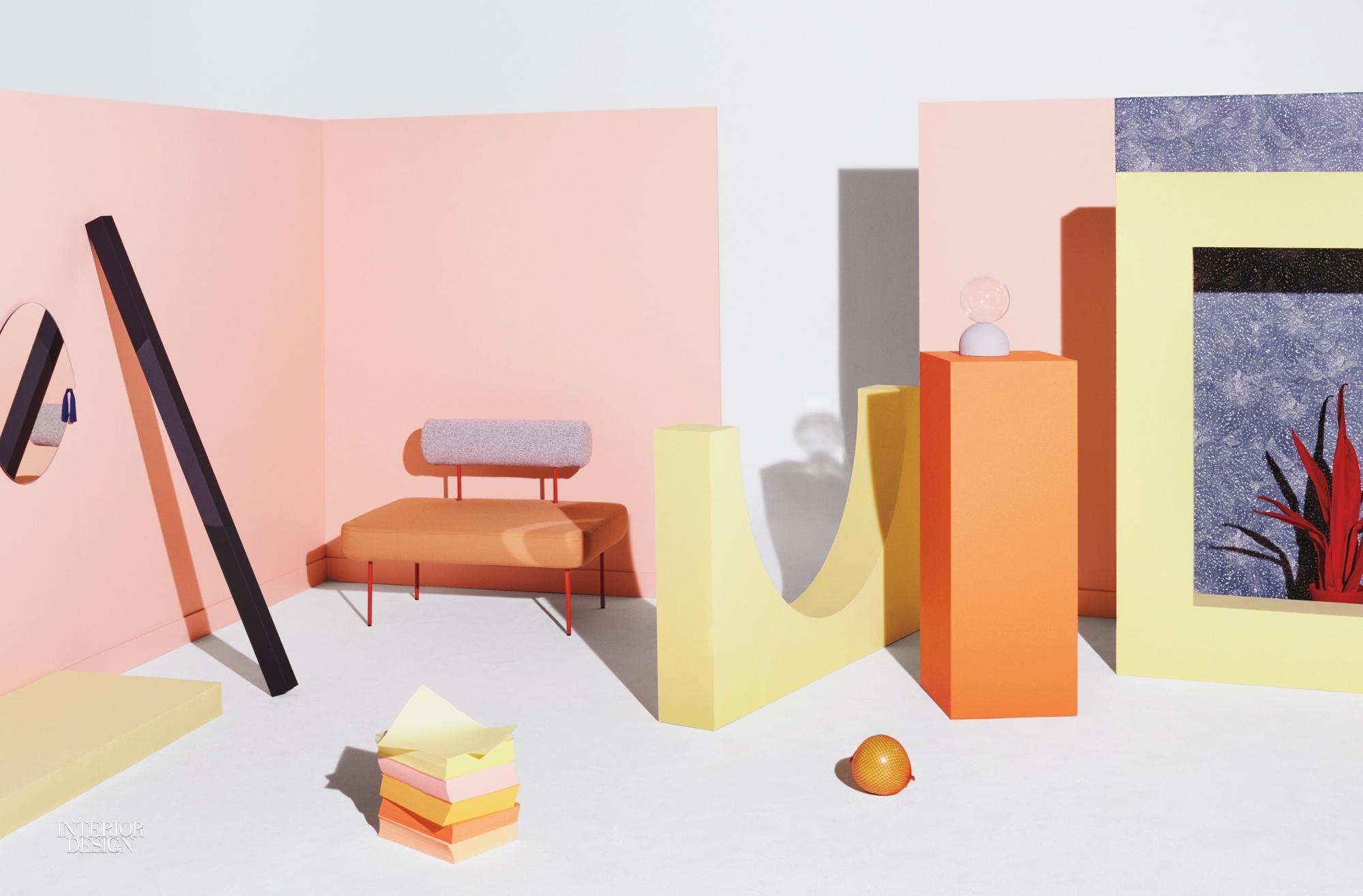 Petite Friture Unveils Playful Villa P.F. Line