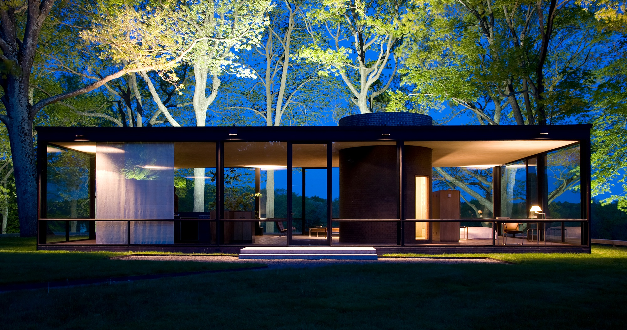 on the move hilary lewis named chief curator at philip johnson 39 s glass house. Black Bedroom Furniture Sets. Home Design Ideas