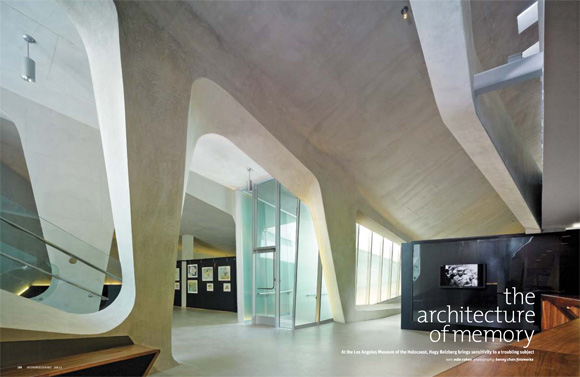 The architecture of memory los angeles museum of the - Interior design school los angeles ...