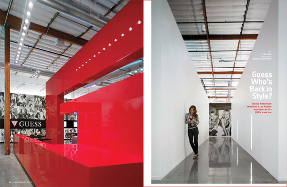 Guess Who 39 S Back In Style Guess 39 Los Angeles Hq By Studios Architecture