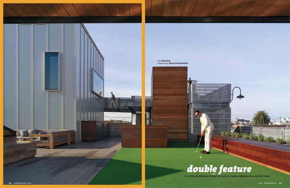 Nice Double Feature: Joey Shimoda And Andy Waisler Turn Two Santa Monica  Buildings Into A Film Studio Amazing Design