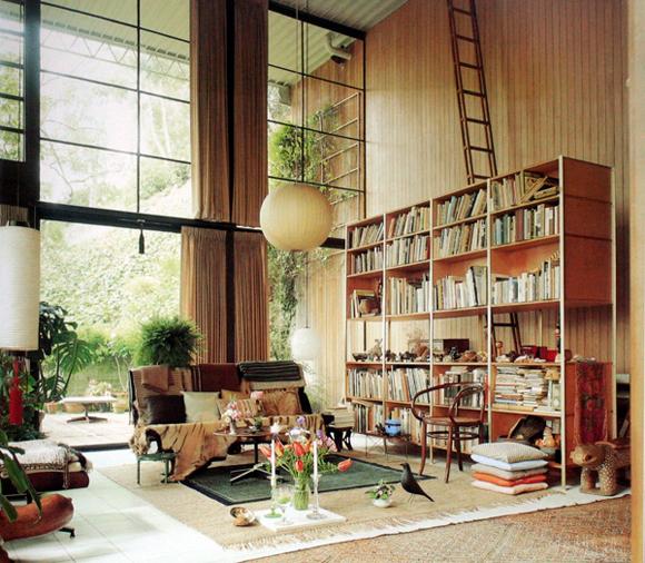 architecture houses interior. Delighful Architecture Eames House Interior Inside Architecture Houses Interior