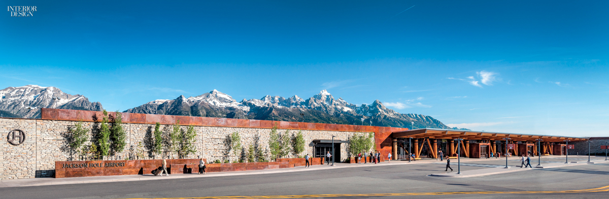 Jackson Hole Airport >> Wyoming S Jackson Hole Airport By Gensler Denver