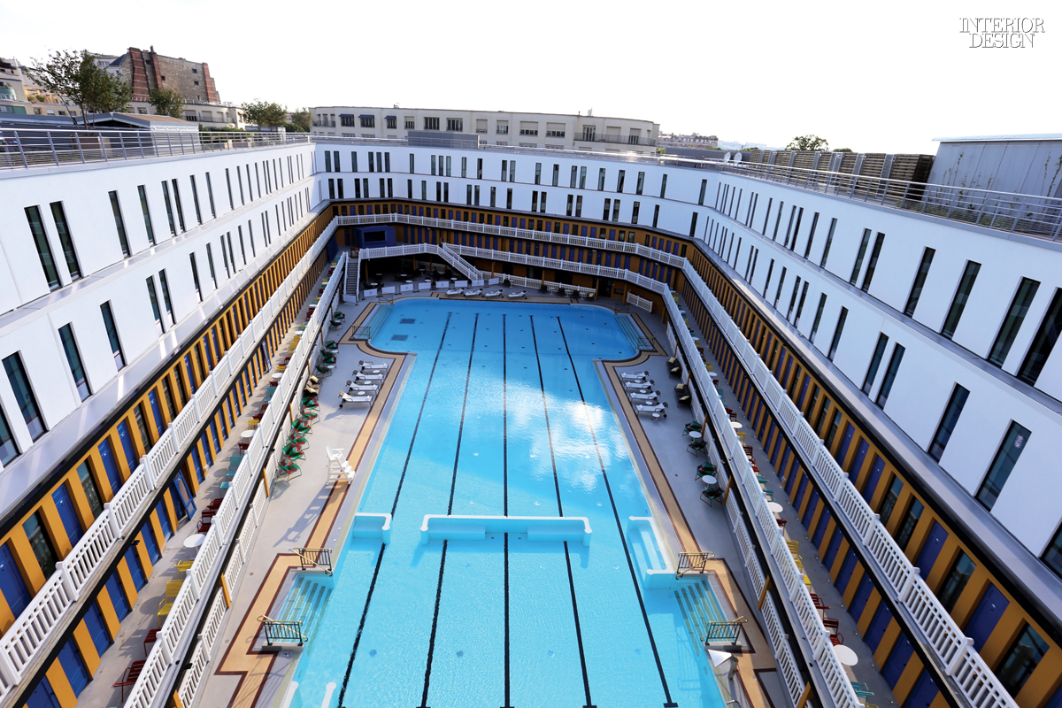 Making A Splash Reinventing A Swimming Pool As The Hotel Molitor Paris