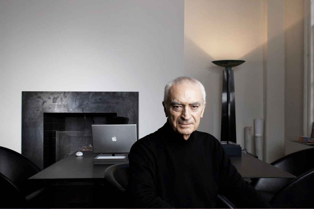 Massimo Vignelli 1987 Hall Of Fame Inductee