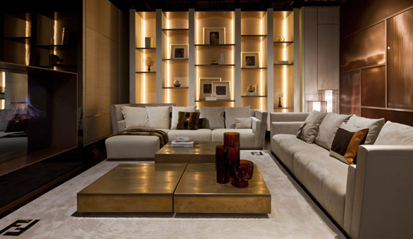 Fendi casa opens nyc showroom for Interior designer on line