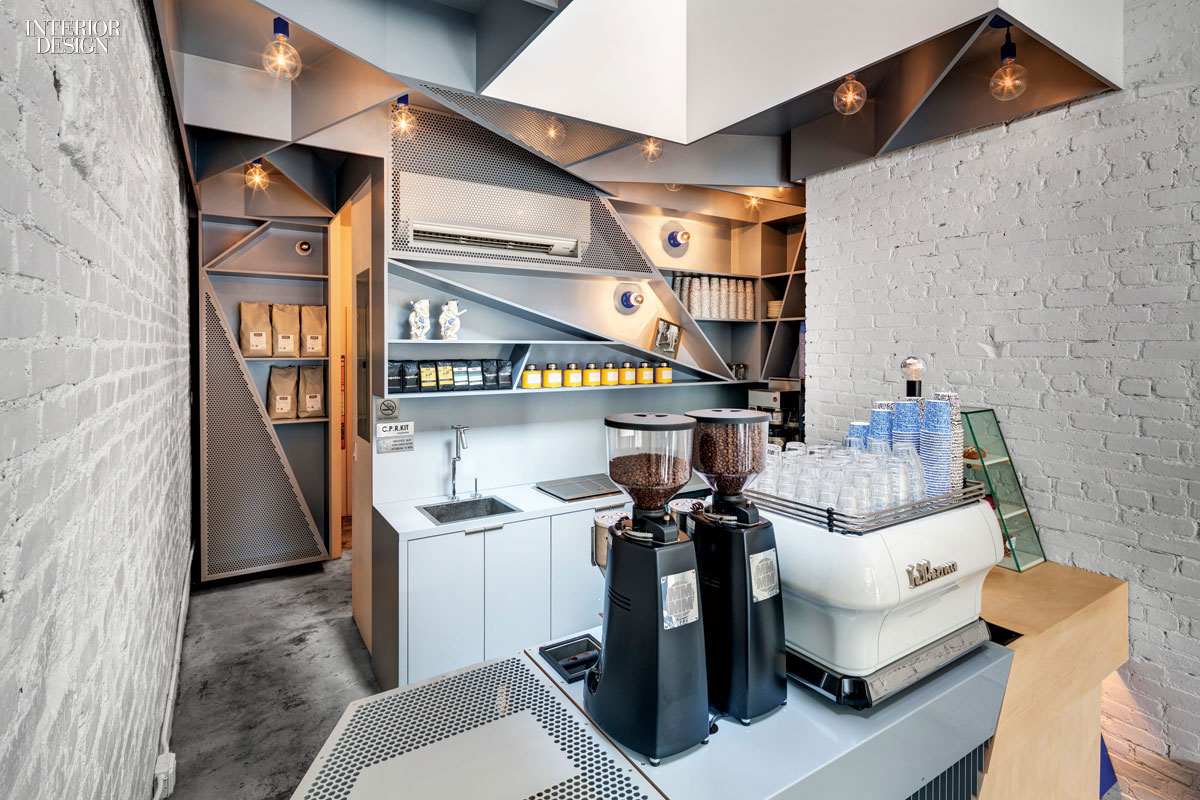 Everybody get happy happy bones caf 39 s first permanent digs for Small cafe bar design