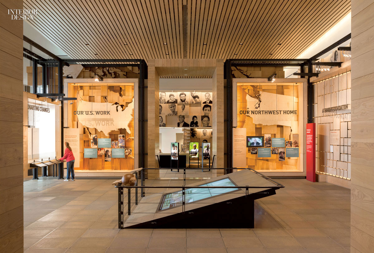 Gateway To The Gates Foundation Visitor Center By Olson