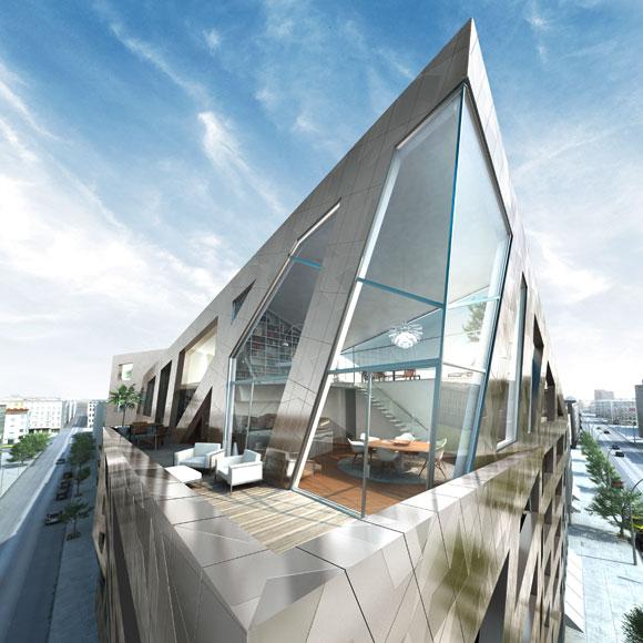 Penthouse Berlin daniel libeskind reveals 2015 berlin residences