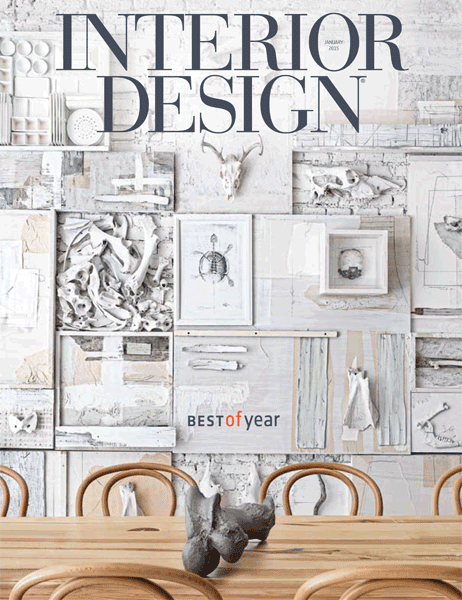 Featured Projects Walk Throughs Products News And More From The 2015 Issues Of Interior Design Magazine