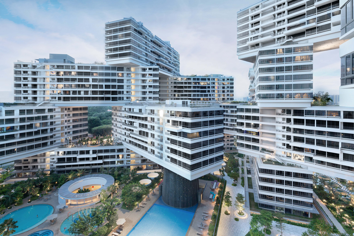 THE INTERLACE By Buro Ole Scheeren 1