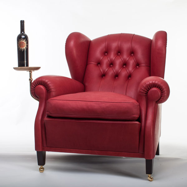 Frau Poltrone.Poltrona Frau Partners With Winery To Remake Iconic Chair