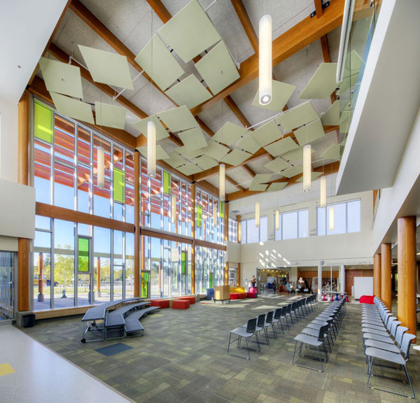 Number Ten Architectural Groups Douglas Park Elementary School In Regina Sk Canada Won In The Education Category