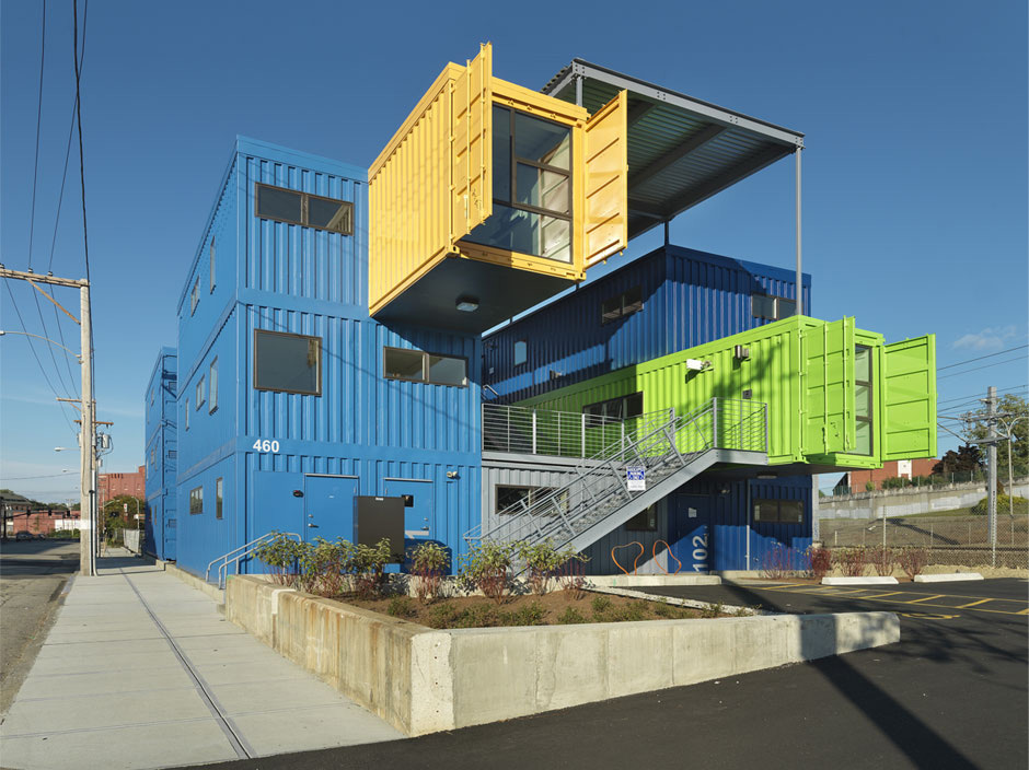 9 Shipping Container Projects Take Design To New Heights