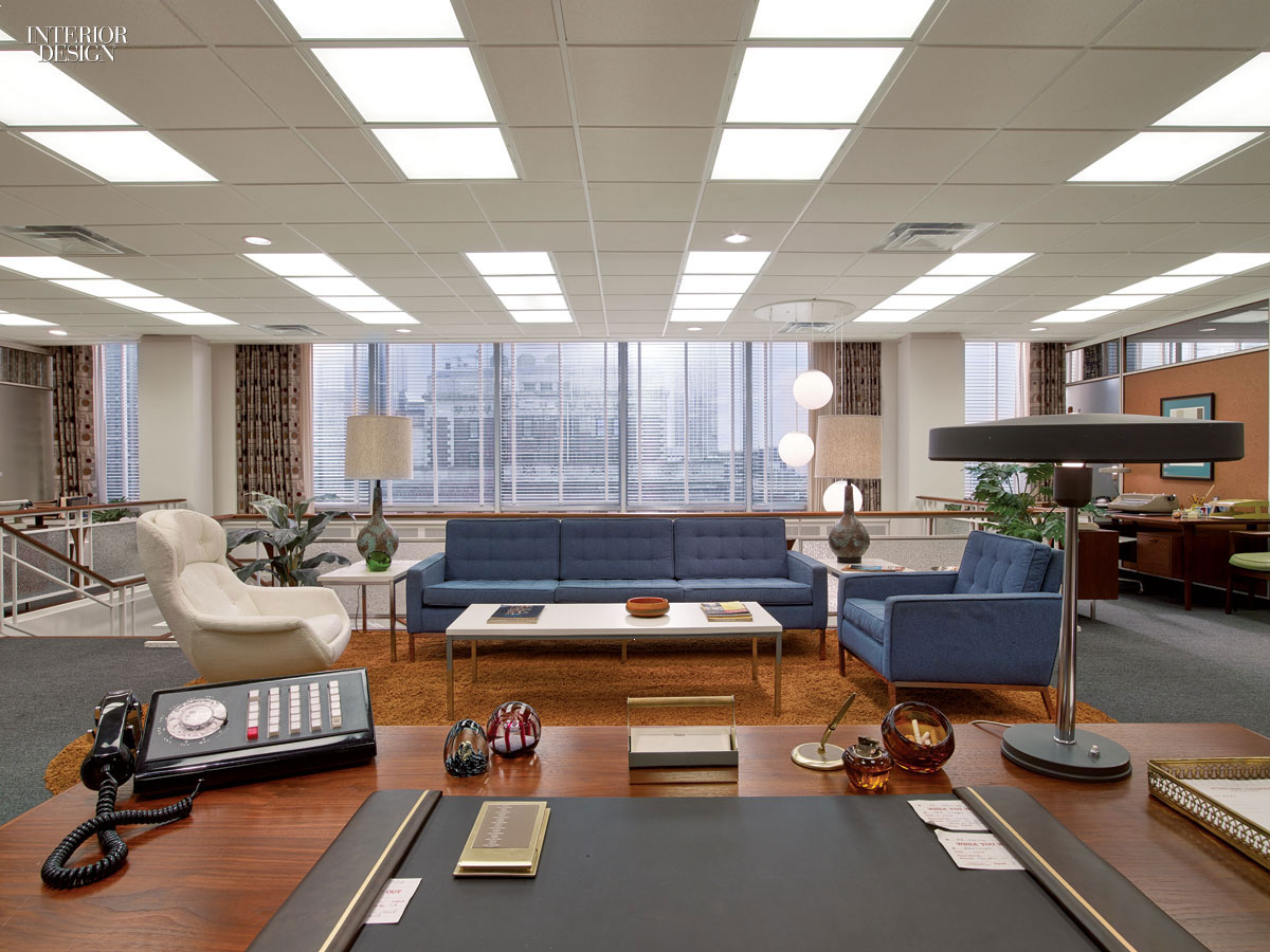 Mad Men Decor welcome to 1969: mad men's award-winning set design