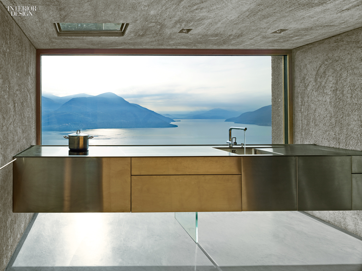 A View To A Thrill: Swiss Alps Bring Drama to Vacation House by ...