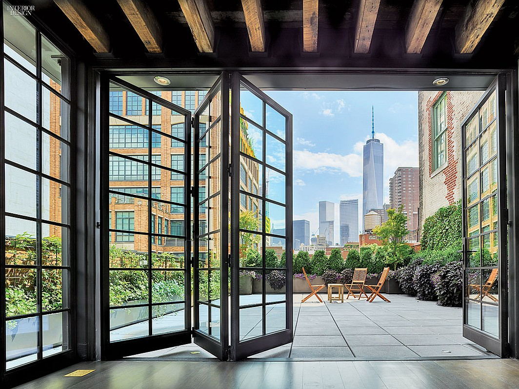 12 spectacular new york city residences for Top interior design firms in nyc