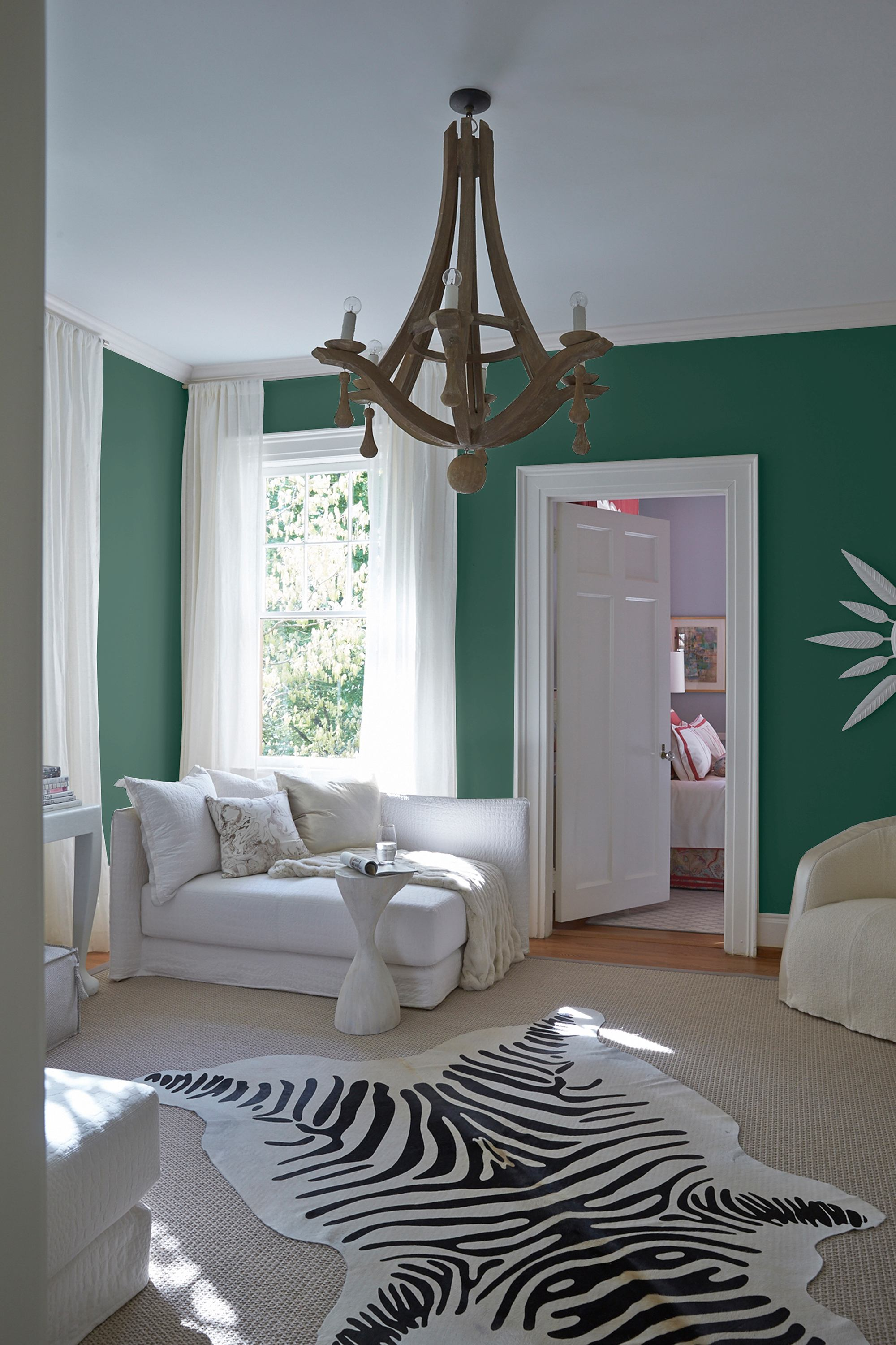 This Living Room Uses Pratt U0026 Lambertu0027s Spring Field (216F) To Evoke The  Colors Of Dewy Mist.