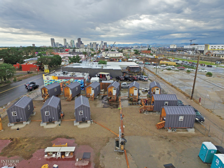 Radian Placematters Designs Micro Housing Village For Denver S Homeless