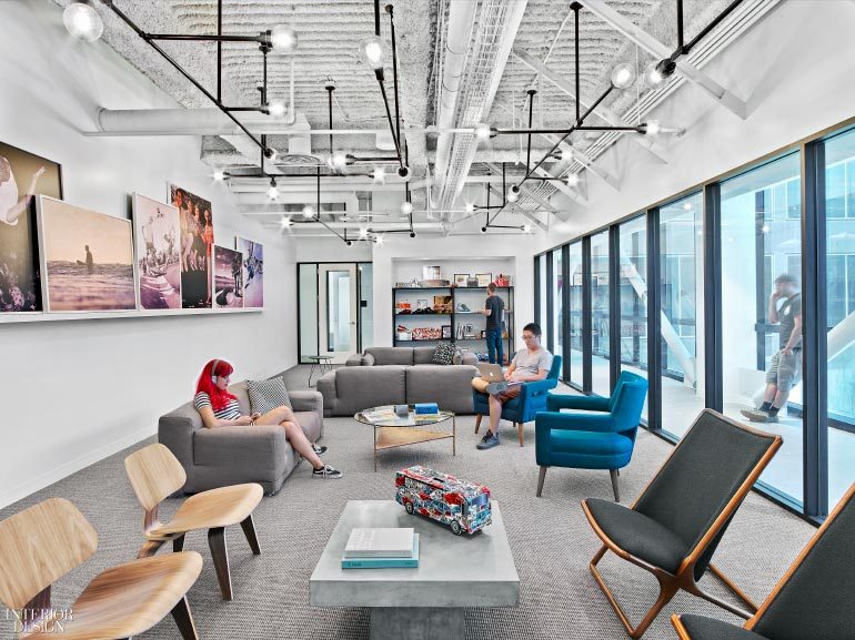Rapt Studio S Young Talents Design Skate Centric Socal Hq For Vans Interior Design Magazine
