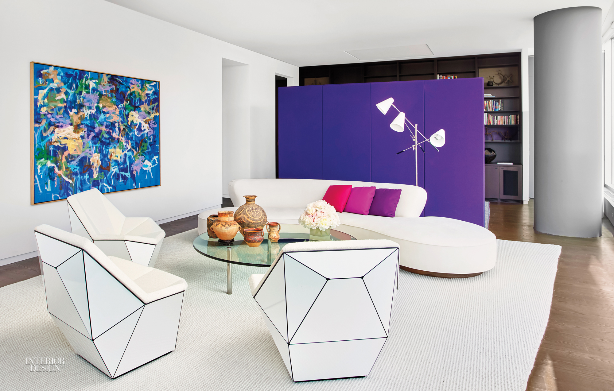 Elegant Residential Interior Design Projects With Apartment