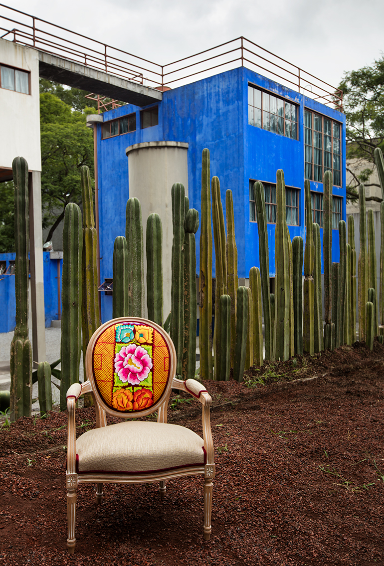 A Custom Florian Armchair At The Frida Kahlo Museum. Photography By Zony  Maya.