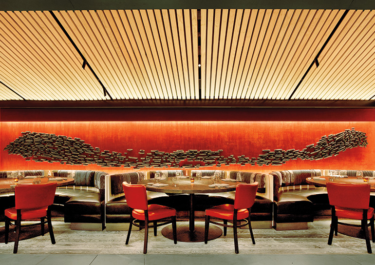 Rockwell group designs a winning second act for nobu