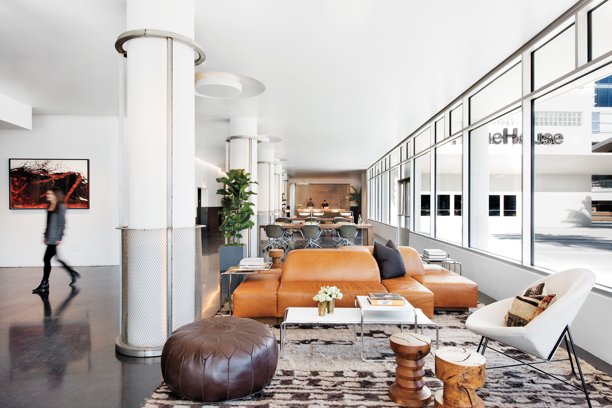 Neuehouse los angeles by rockwell group 2016 best of year - Interior designers in los angeles ...