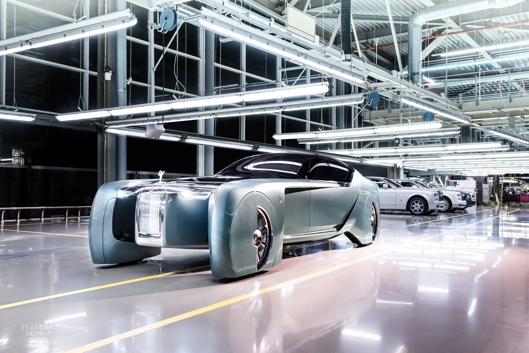 Rolls-Royce Unveils Self-Driving Prototype With Luxurious Interiors