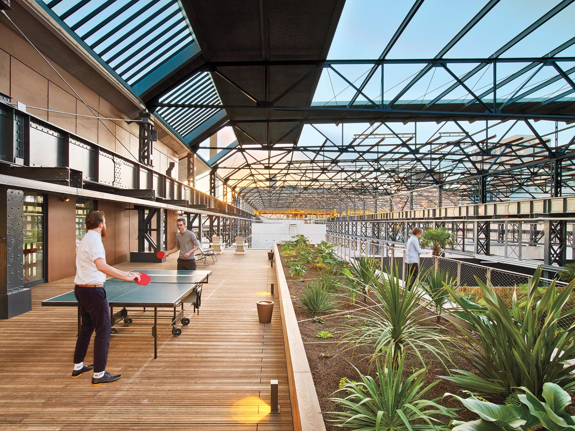Saguez U0026 Partnersu0027 Office Is A Brazilian Inspired Oasis Outside Paris